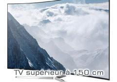 TV  supérieur à 150 cm