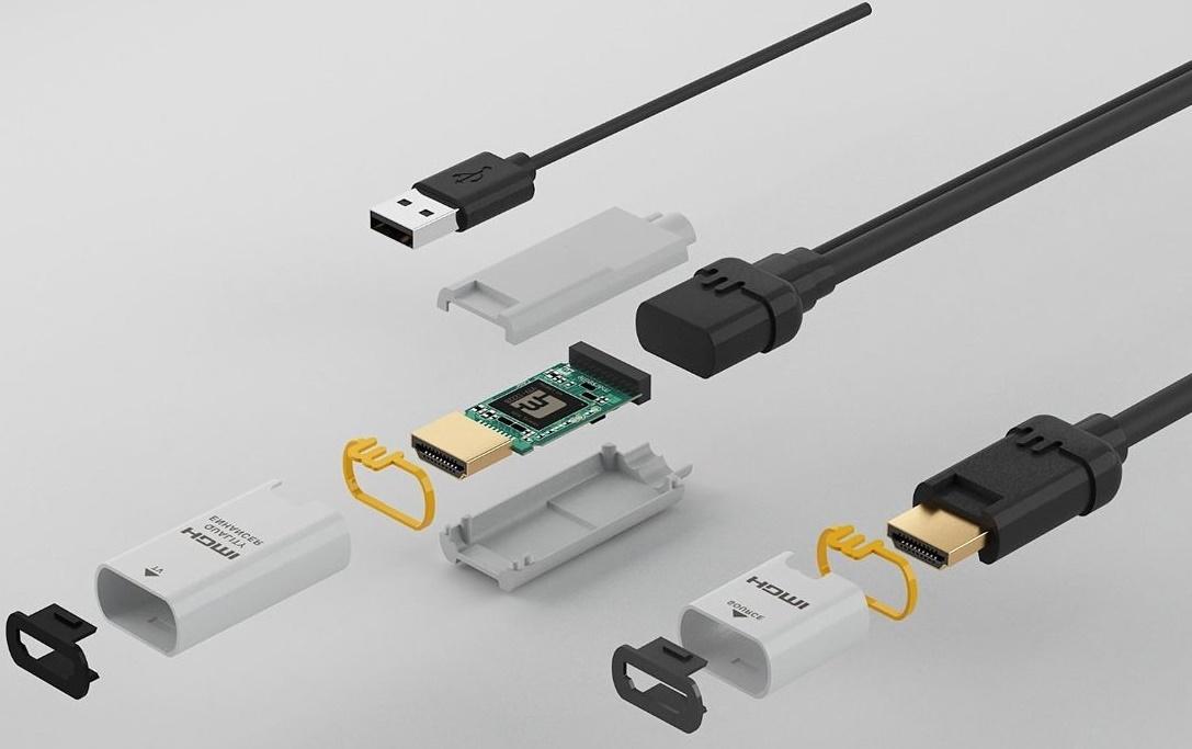 Câble HDMI 4K Marseille,  mise à l'échelle vers le format Ultra HD 4K ou HD 1080p