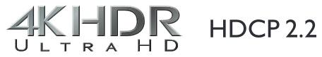 Onkyo TXNR676, 4K HDR, BT.2020, 4K/60 Hz et HDCP 2.2