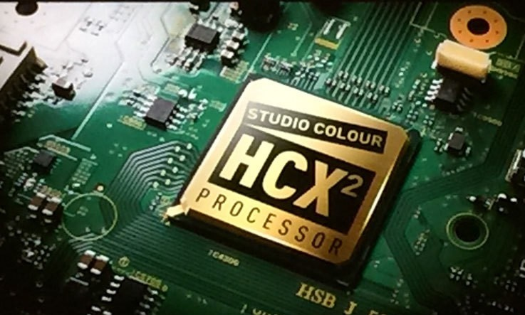 Processeur Studio Color HCX2, Panasonic TX-55EZ950