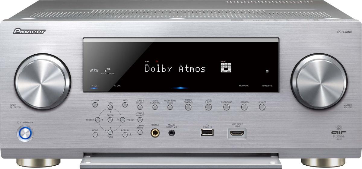 Pioneer SC-LX901, 4K UltraHD Upscaling, Streaming Hi-Res