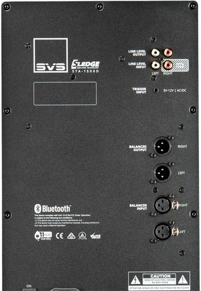 Amplificateur Sledge 5000W en crête du subwoofer SVS SB-16 Ultra