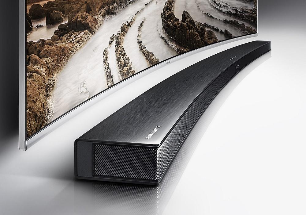 Samsung HW-M4501, Barre de son incurvée 2.1, 260W, Bluetooth, caisson de basse sans fil