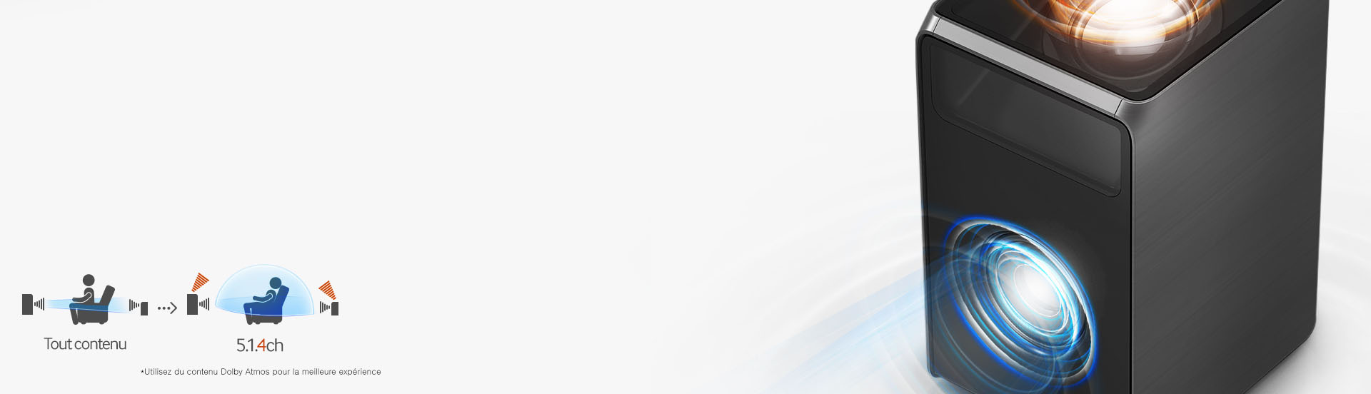 Surround Sound Expansion Plus de la barre de son Samsung HW-K950