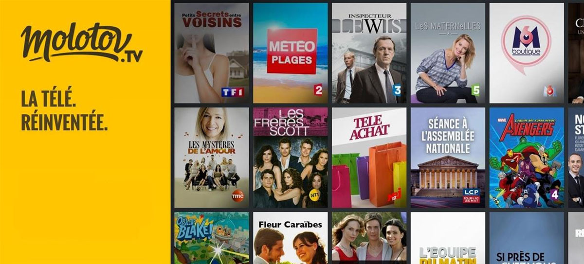 Molotov.tv est disponible sur les TV Samsung Q8C