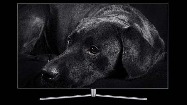 Gestion du contraste du TV Samsung QE55Q7F