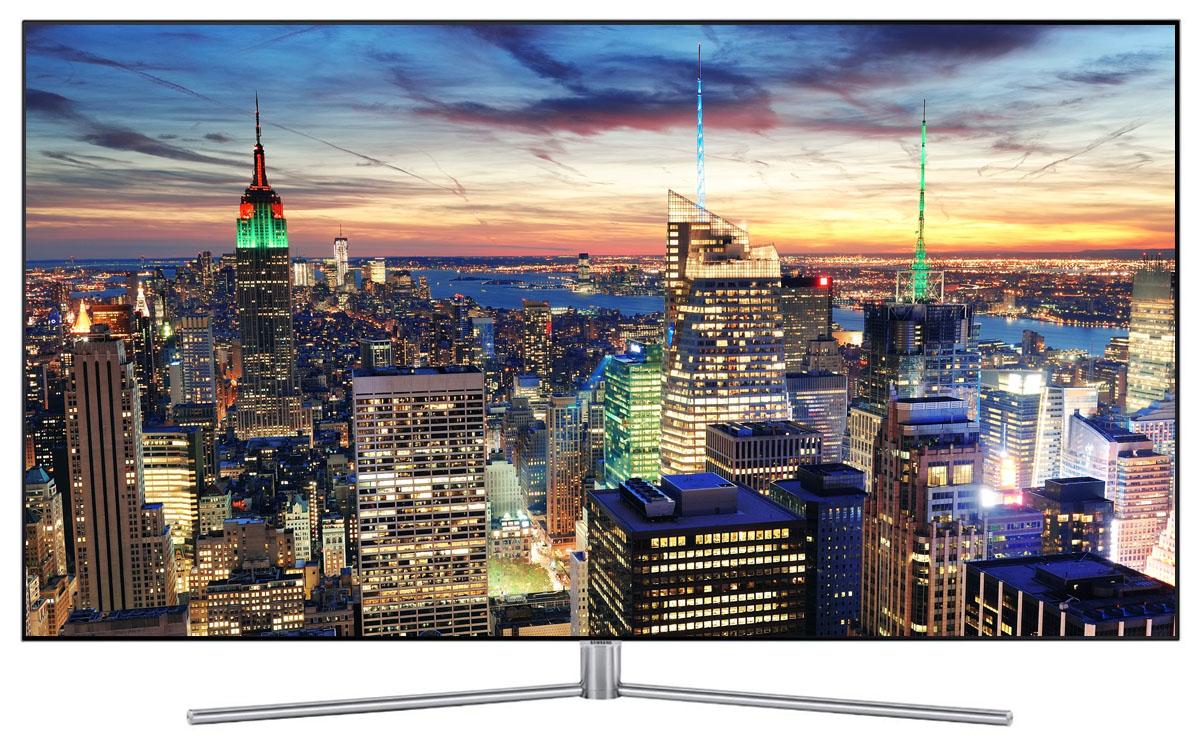 Gros plan sur le téléviseur QLED 4K-UHD 140 cm QE55Q7F
