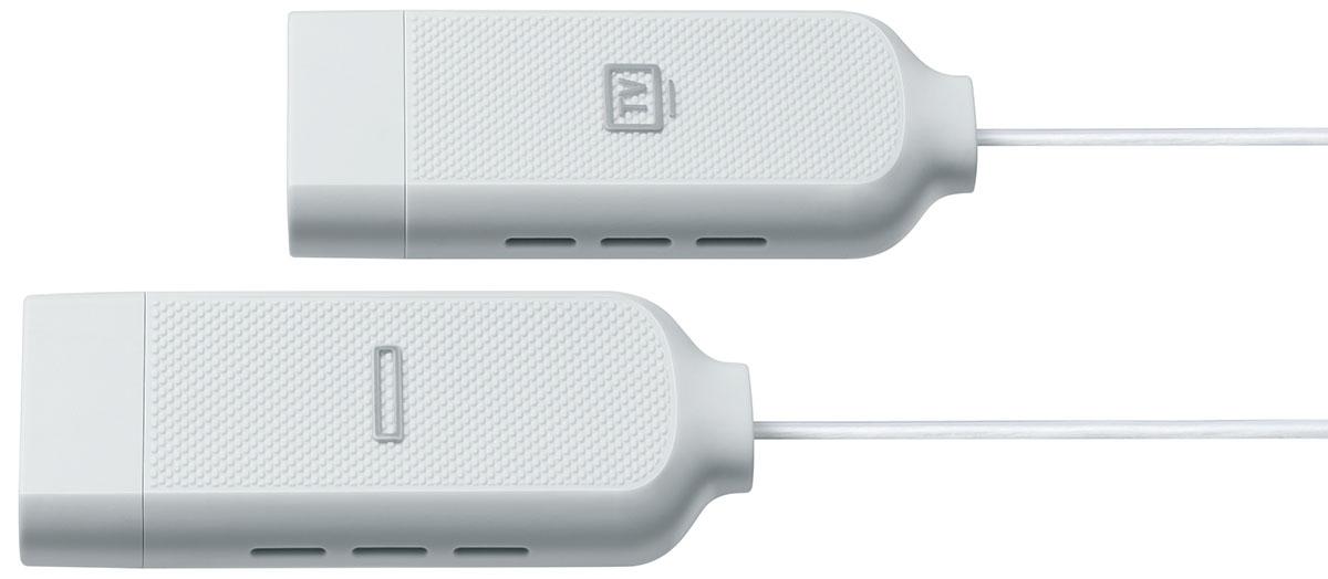 Gros plan sur le câble TV - Boitier One Connect Samsung VG-SOCM15 de 15m