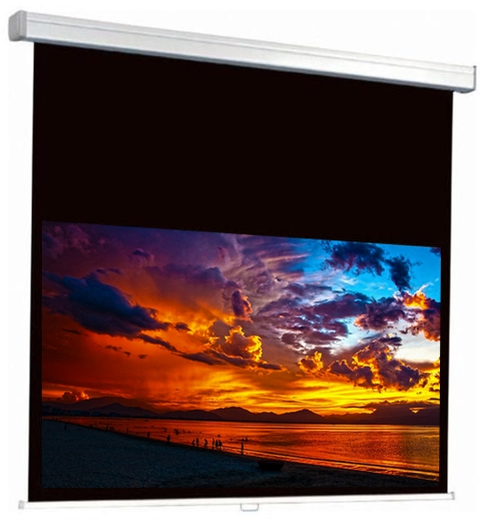kimex ecran electrique 16 9. Black Bedroom Furniture Sets. Home Design Ideas