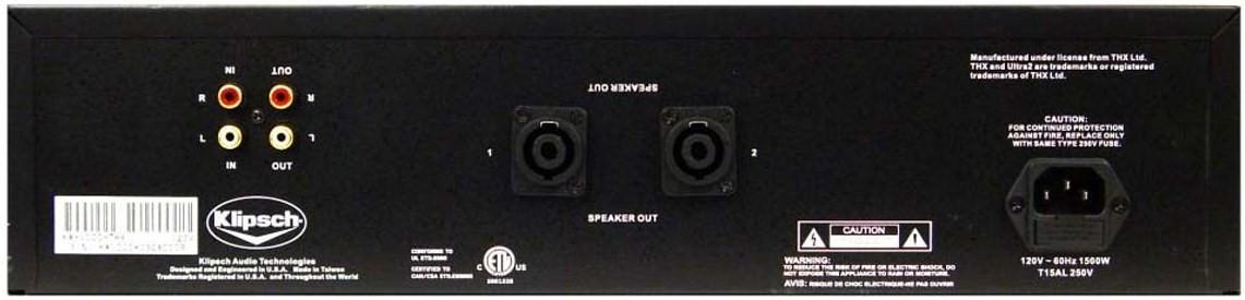 KLIPSCH KA1000 THX ULTRA2, amplificateur pour caisson de grave