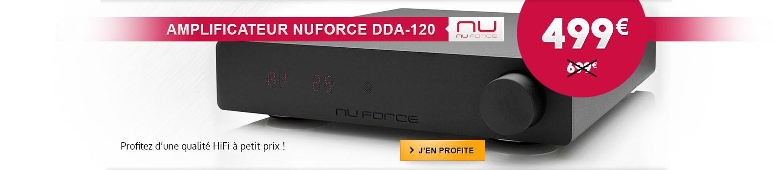 Amplificateur NuForce DDA120 : La qualité HiFi à petit prix !