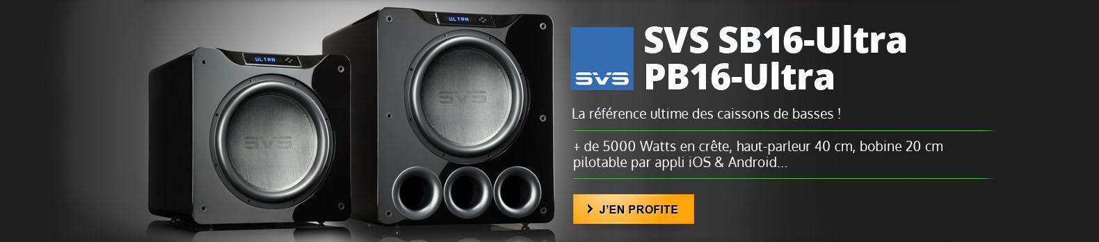 Nouveaux subwoofers SVS Ultra 16 Series !