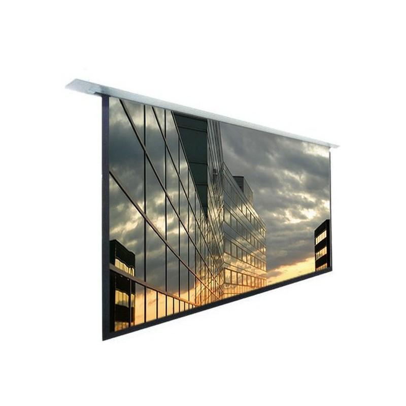 kimex ecran electrique encastrable 16 9. Black Bedroom Furniture Sets. Home Design Ideas