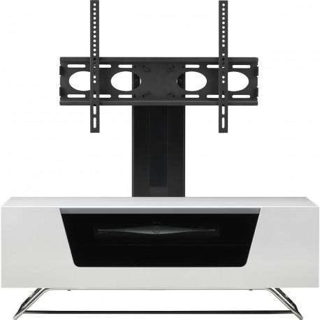 Alphason chromium 2 1200mm avec support tv integre - Meuble tv support integre ...