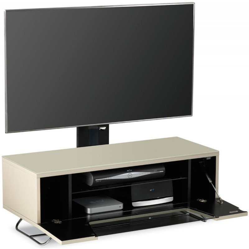 alphason chromium 2 1200mm avec support tv integre. Black Bedroom Furniture Sets. Home Design Ideas