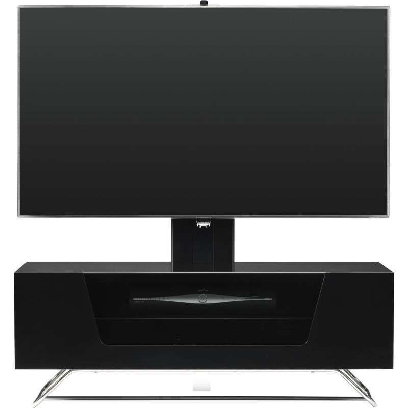 alphason chromium 2 1200mm avec support tv integre. Black Bedroom Furniture Sets. Home Design Ideas