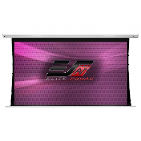 Ecran de projection électrique tensionné Elite Screens SAKER TAB TENSION