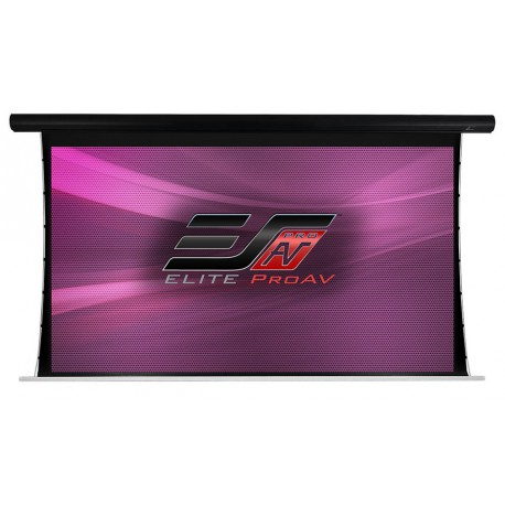 Ecran de projection électrique tensionné Elite Screens SAKER TAB TENSION BLACK