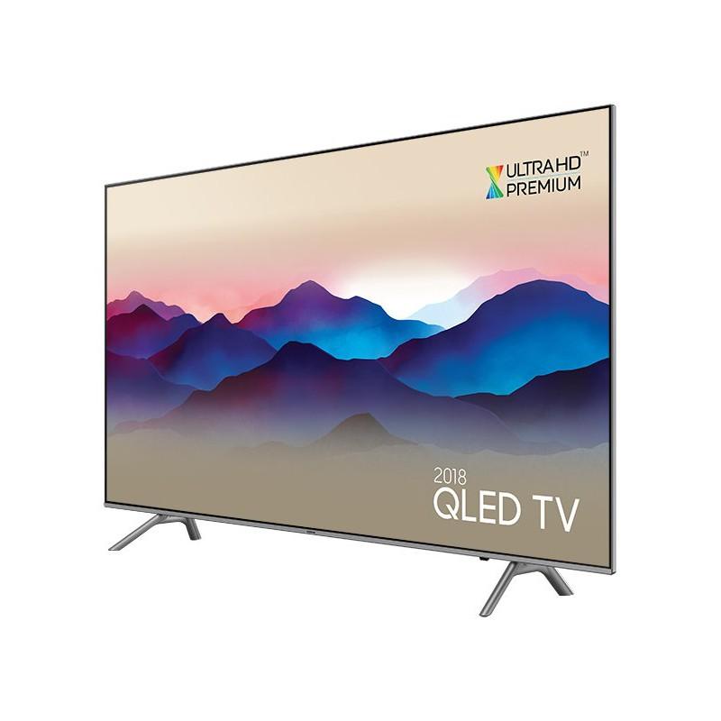 Tv 4k uhd 140 cm qled samsung qe55q6f 2018 - Tv 140 cm 4k ...