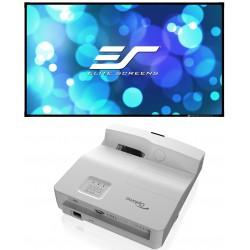 Pack projecteur ultra courte focale + écran cadre technique CLR  HD35UST + AEON EDGE FREE CLR