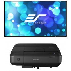Pack EPSON EH-LS100 + Elite Screens AEON EDGE FREE