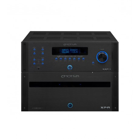 Pack préampli stéréo + Ampli de puissance stéréo EMOTIVA XSP-1 + XPA-DR2