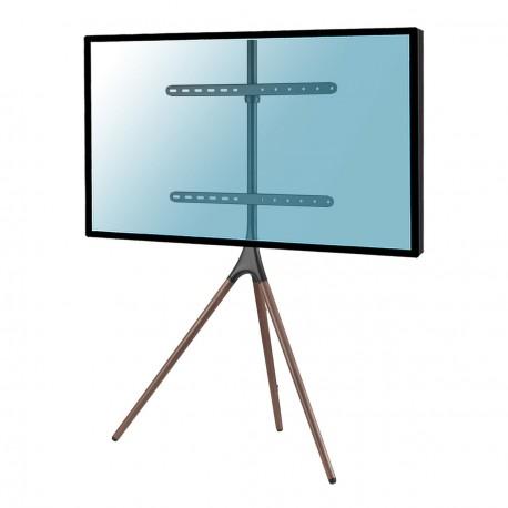 "KIMEX 030-4164 Support chevalet pour TV 45""- 65"" noir/noyer"