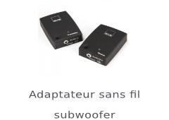 Adaptateur sans fil subwoofer