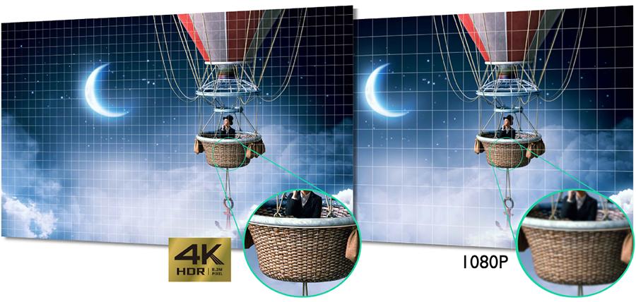 BENQ W1700, projecteur 4K HDR