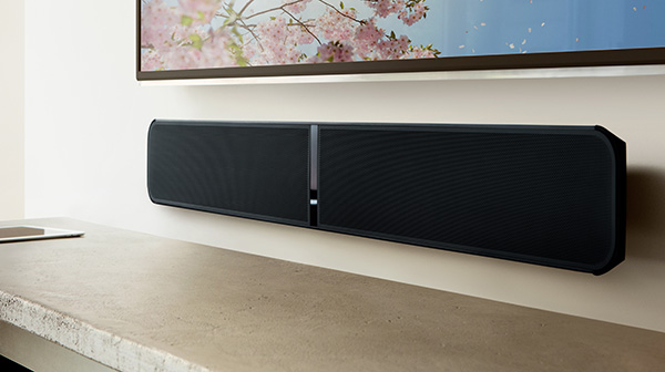 BlueSound SoundBar Pulse, barre son wifi, bluetooth
