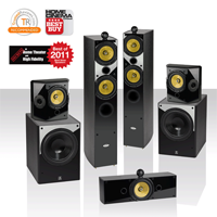 Pack 5.2 THX Crystal Acoustics T2-5.2-UL