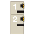 Double coffrets distinctifs