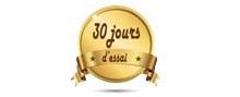 Satisfait ou remboursé pendant 30 jours