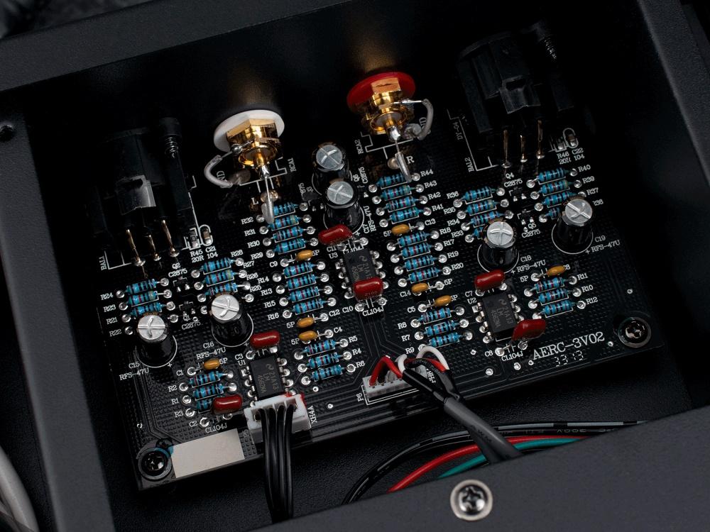 EMOTIVA ERC3, lecteur de CD, sorties symétriques
