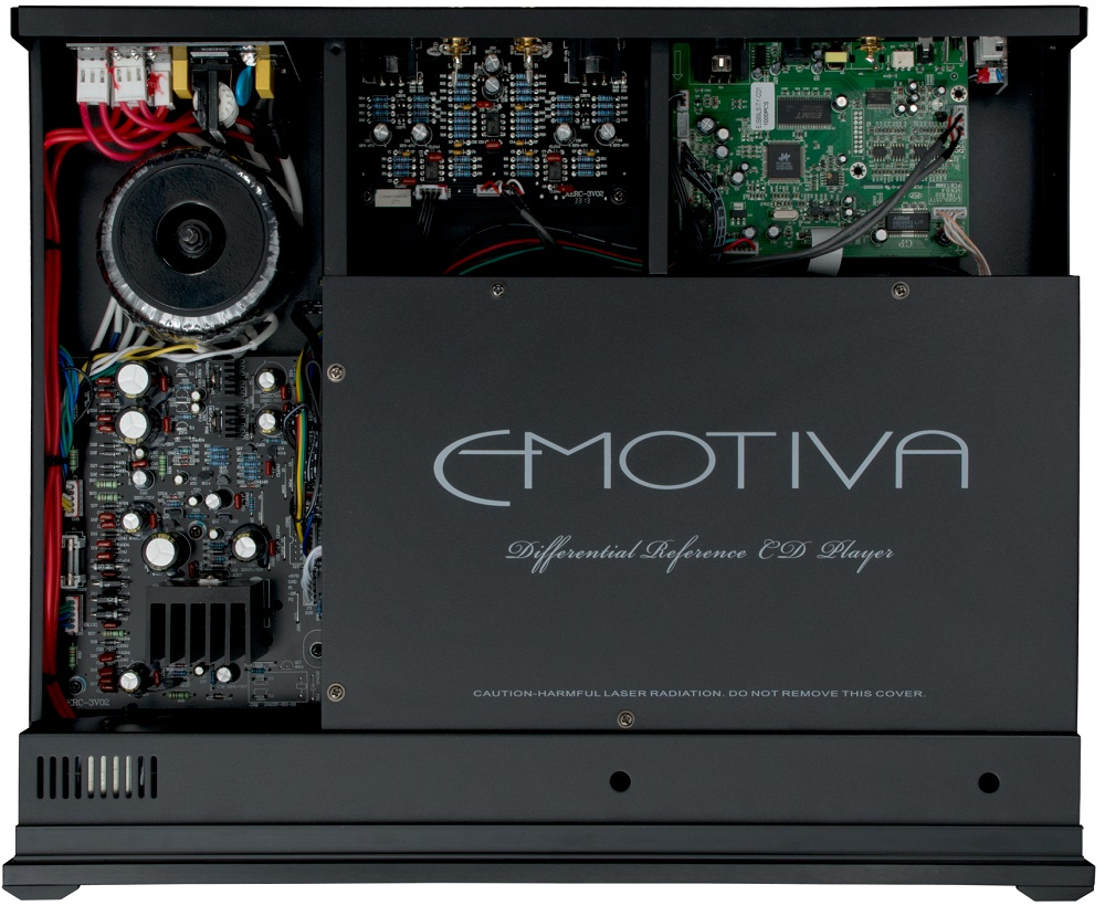 EMOTIVA ERC3, lecteur CD, sorties symétriques