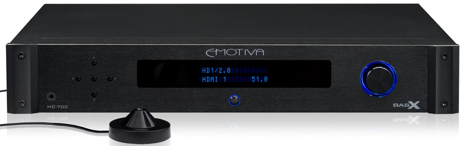 Processeur home cinéma Emotiva MC-700