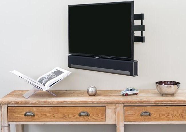 SUPPORT MURAL ORIENTABLE POUR TV ET SONOS PLAYBAR