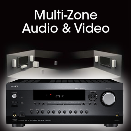 INTEGRA DRC-R1.1, pré-amplificateur multiroom audio vidéo