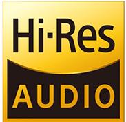 Intégra DRX-R1, Lecture haute résolution (Hi-Res)