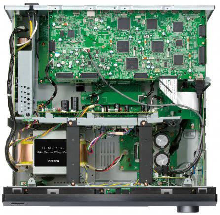 Integra DRX-R1.1, Conception d'amplificateur numérique hybride avancée
