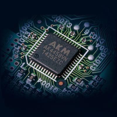 Integra DRX4.2, Convertisseur 384 kHz / 32 bits
