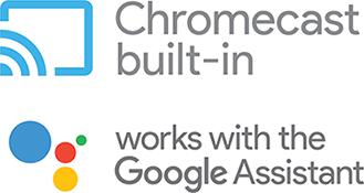 Integra DRX3.2, Amplificateur Chromecast et assistant Google intégré