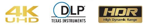 Projecteur DLP 4K UHD / HDR, JVC LX-UH1