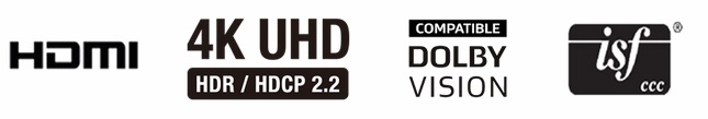 Marantz AV8805, HDMI, HDCP 2.2,  4K Ultra HD 60Hz,  HDR