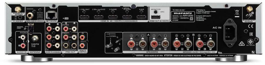 Marantz NR1200, amplificateur stéréo avec HDMI