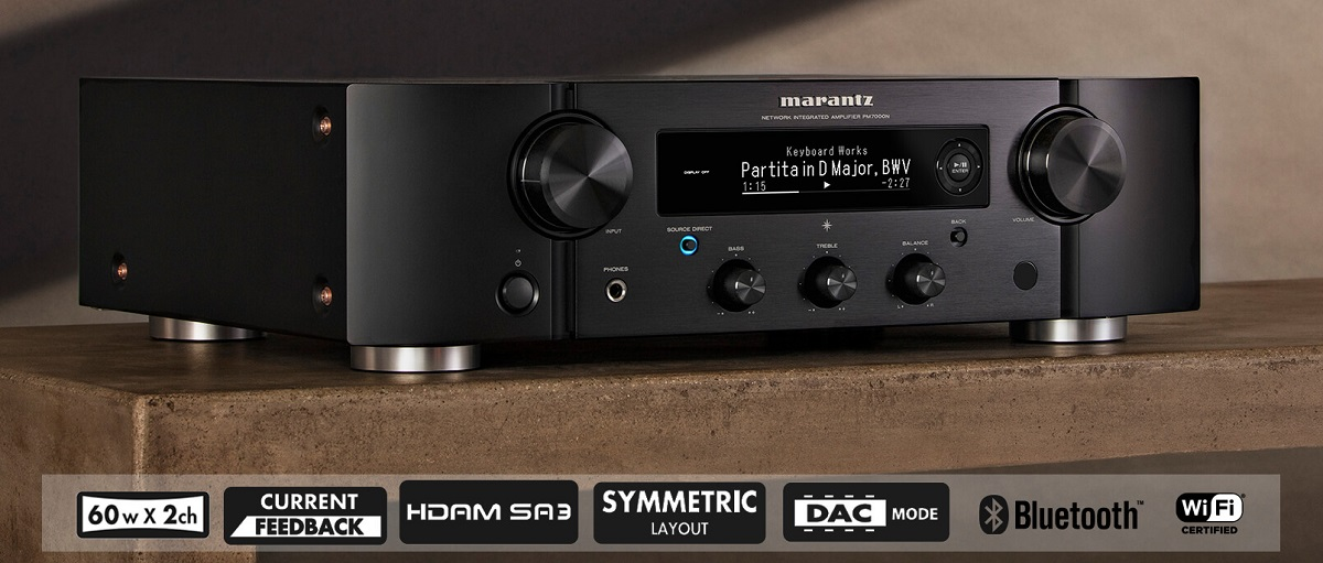 Marantz PM7000N, amplificateur intégré