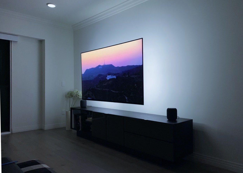 Exemple d'installation du bandeau LED D65 Medialight
