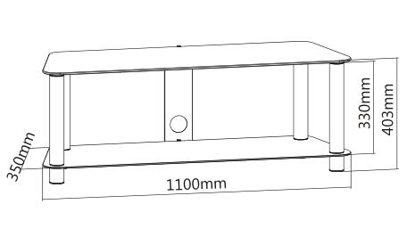 Dimensions du ETNA KE110NE