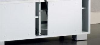 Système de gestion des câbles des meubles audio-vidéo Munari