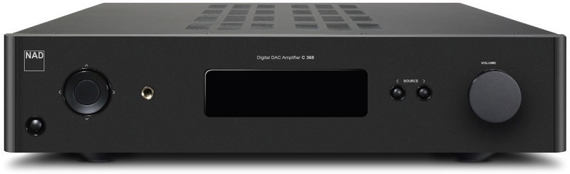 NAD C368, amplificateur stéréo Bluetooth aPtX